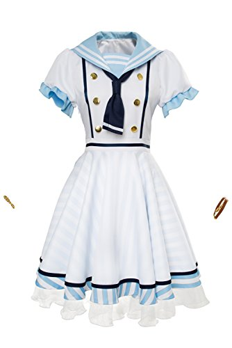 Karnestore LoveLive Nico Yazawa Kleid Uniform Cosplay Kostüm SSR Damen L (Yazawa Nico Kostüm)
