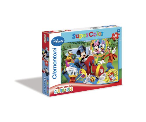 Disney Junior Clementoni 26573 2 Puzzle Mickey Mouse Club House On Track for Fun