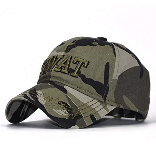 Asbjxny Nuevo Camo SWAT Gorra Militar Bone Militar