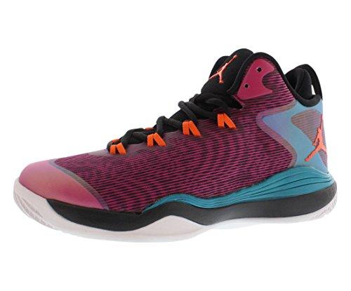 nike jordan super.fly 3 BG hi top 684936 Baskets Chaussures de basketball pour entraînement - fusion pink electric orange black tropical teal 625
