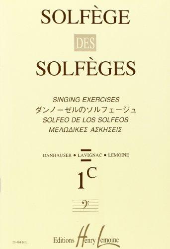 Solfège des Solfèges Volume 1C Fa sans accompagnement