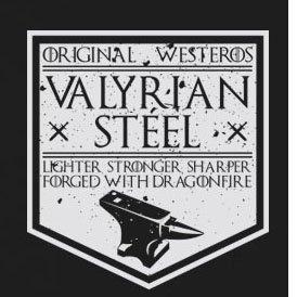 GoT Steel Valyrian Stofftasche Pink Beutel ArAUH