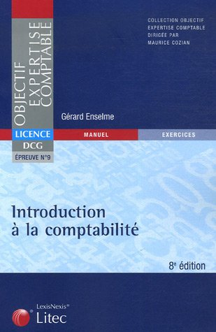 Introduction  la comptabilit DCG Epreuve 9 (ancienne dition)