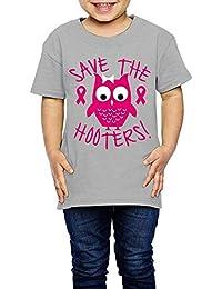bc816630e3e1cd Pmguerxbfhyd Girl Boy Toddler Save The Hooters 1 Short Sleeve T Shirt