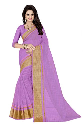 J B Fashion Women's Silk Saree With Blouse Piece (P-260_Pink)