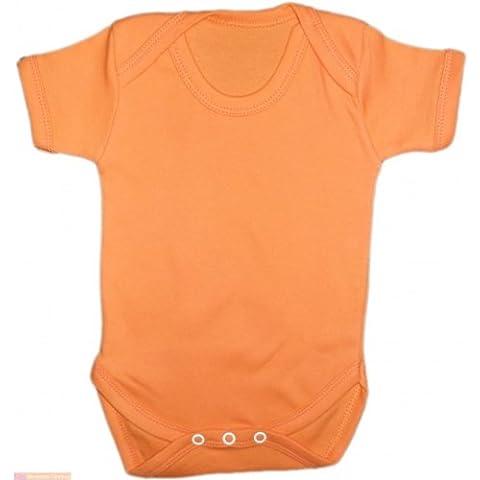 Pantalones cortos de deporte de camiseta de manga corta con mangas para bebé para Mono corto de costura para chalecos de crecen y dan lugar con diseño de Body de diseño de la naranja mecánica