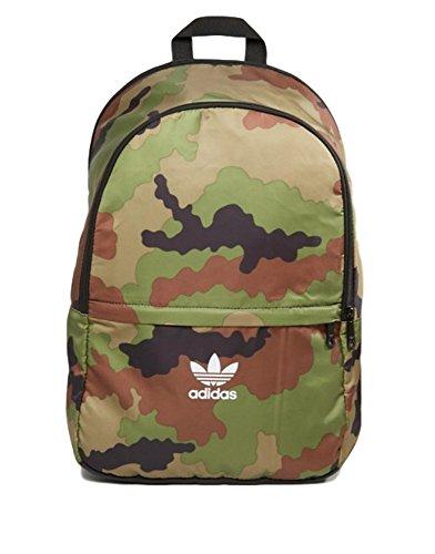 Adidas - Mochila 'Essentials Camouflage', verde, 47x 30x 15 cm