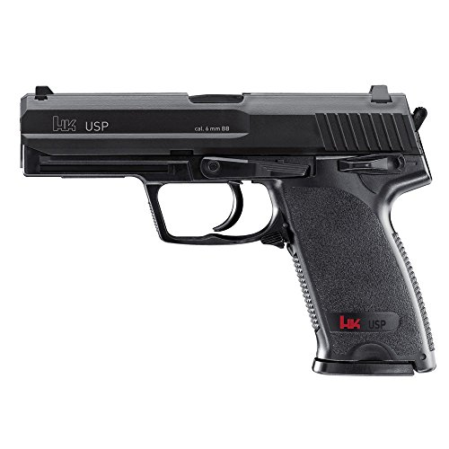UMAREX U25561  PISTOLA AIRSOFT H&K USP GAS CO2  CALIBRE 6MM  1 3 JULIOS DE POTENCIA