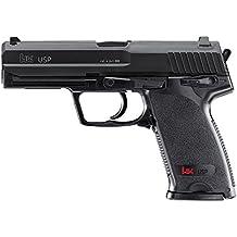Umarex U25561. Pistola airsoft H&K USP Gas Co2. Calibre 6mm. 1,3 Julios de potencia