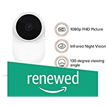 (Renewed) Mi SXJ02ZM 1080P Basic Home Security Camera (White)