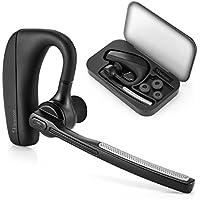 [New Version] auricolare Bluetooth, SHareconn 9 ore Tempo di conversazione V4.1 Free Hand ricevitore telefonico senza fili con la funzione Mute sweatproof riduzione del rumore auricolari con microfono per Android / Iphone / Windows / PC