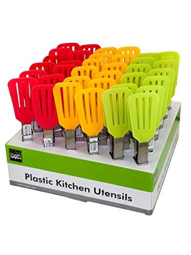 stealstreet Kunststoff Küche Turner Zange Counter Top - Display Kunststoff-utensil