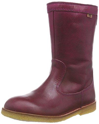 Bisgaard Unisex-Kinder TEX Boot Kurzschaft Stiefel, Rot (86 Bordo), 32 EU