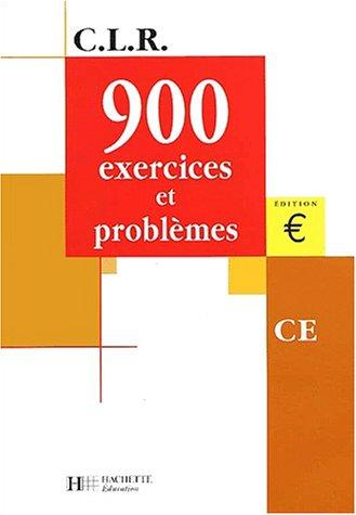 900 exercices et problèmes, CE