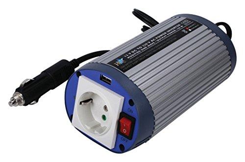 Eurosell HQ Profi Wechselrichter 12V 230V 150W USB INVERTER KFZ AUTO BOOT Batterie Spannungswandler Konverter Converter Steckdose Zigarettenanzünder Adapter