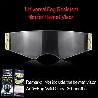 CA Anti-Fog Film importiert Motorrad Helm Objektiv Universal Anti-Fog Film Helm Objektiv Aufkleber