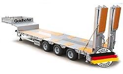 Carson 907060 - Goldhofer Sattelanhänger BAU STN-L3, Sattelauflieger - 1:14,  Bausatz