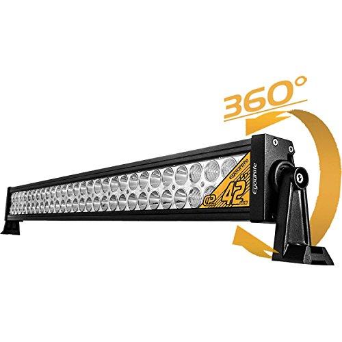 Eyourlife Auto Beleuchtung Arbeitsleuchte Offroad Zusatzscheinwerfer Scheinwerfer Arbeitsscheinwerfer 240W LED Spot/Flood Combo Car Work Light 4WD PKW Jeep SUV ATV