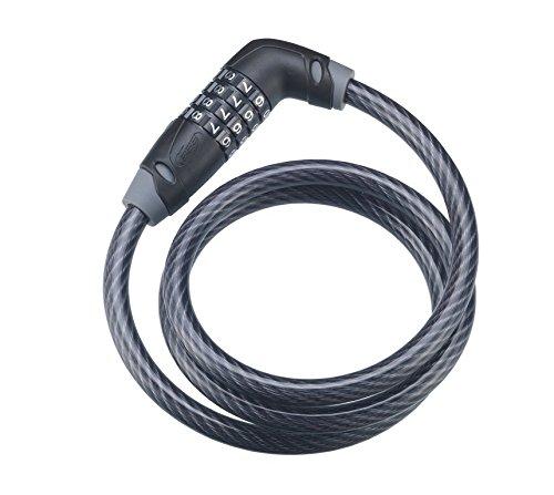 BBB Schlösser Fahrradschloss Code Safe BBL-36, schwarz, 10 x 1000 mm