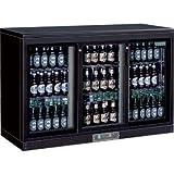 Winware Triple Sliding Door Bar Display Bottle Cooler