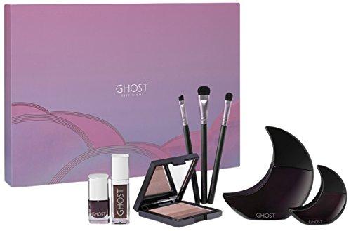 Ghost Deep Night Eau De Toilette, Mini, Lip Gloss, Nail Polish, Makeup Brush and Eye Shadow Pallet Gift Set