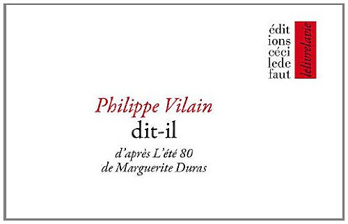 Et Il Dit [Pdf/ePub] eBook