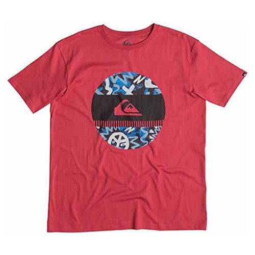 Quiksilver T-shirt da uomo Tee Disco Biscu, Uomo, T-Shirt Tee Disco Biscu, American Beauty, M