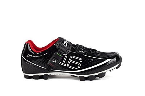 Spiuk, Zapatos De Ciclismo Para Hombres Negros