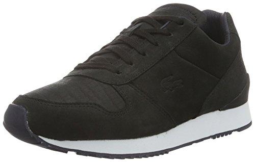 Lacoste L!ve, Trajet, Sneakers da Donna, Nero (blk/nvy), 39