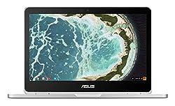 Asus C302ca-gu006-oss 12.5-inch Touchscreen Chromebook Flip (Silver) - (Intel Pentium 4405y Processor, 4gb Ram, 32gb Emmc, Chrome Os)