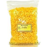 100% Bienenwachspastillen RAL041 f. Kerzen (500g) Bienenwachs Pastillen 3050A