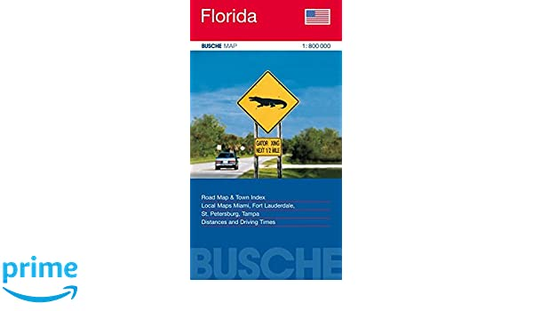 Florida: Road Map & Town Index. Local Maps Miami, Fort ...