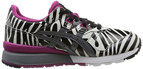 Asics - H4A6Y 0111 - Chaussures Femme Multicolore