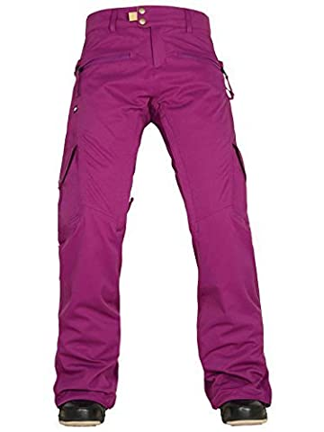 686 Authentic Mistress Insulated Cargo Women's Snow Pants Mulberry Medium by 686