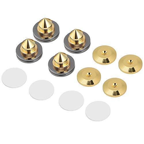 4 Stücke Lautsprecher-Füsse Spikes Sub-Absorber Lautsprecher Absorber Spikes