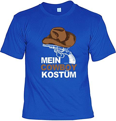 Karneval T-Shirt: Mein Cowboy - Herren T Shirt Cowboy Kostüm