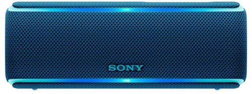 Sony SRS-XB21 Portable Waterproof Wireless Bluetooth Speaker with NFC (Blue)