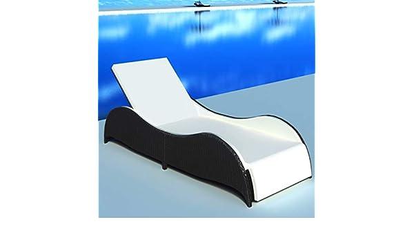 Daonanba Soleil Confortable de Bain Piscine Longue Chaise SVzGMpqU