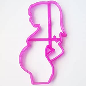 Pregnant Women Fondant / Cookie Cutter For Cake Decorating icing Fondant