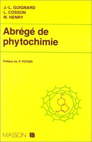 Abrégé de phytochimie