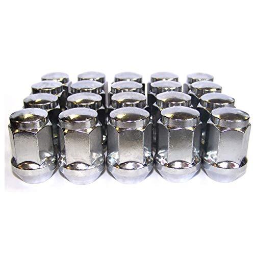 Gen2 Roues Écrous de Roue 12 x 1.25 mm Conique 34 mm de Long 19 mm hexagonale Chrome