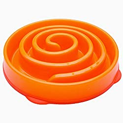 Store2508 Large Dog Feeding Bowl. Pet Feeding Bowl. Slo-Bowl. For Slow & Healthy Eating. (Design B)
