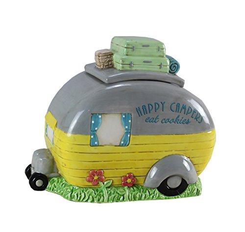 Youngs 's Keramik Camper Cookie Jar, Mehrfarbig, Maurerkelle Keramik Cookie Jar