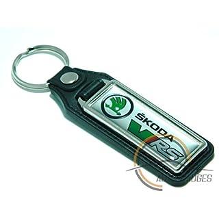 """Schlüsselanhänger mit Aufschrift """"Skoda VRS"""", Octavia, Fabia"""