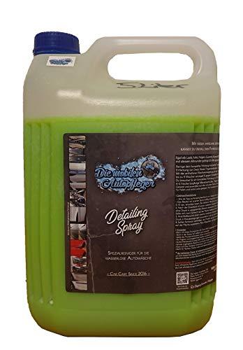 Detailing Spray 5 Liter Kanister Reiniger für die wasserlose Autowäsche   Detailer   Glanzspray   Autoshampoo   Lackreiniger   Autopflege