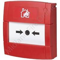 KAC Fire Alarm convencional Manual Call Point–Flush por MIDLAND Fire en línea