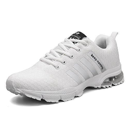 CLASSIC PINK Zapatillas Deporte Hombre Zapatos para Correr Aire Libre Running Sneakers