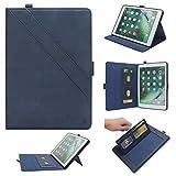 LEMOUTON YZ-161-FR YZ-161-FR Tablet-Schutzhülle, iPad 9.7 (2017&2018) iPad Air 2, dunkelblau