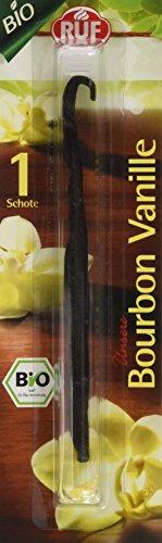RUF Lebensmittelwerk Bio Borbon Vanille Schote, 1er Pack (1 x 2.8 g)