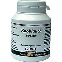 Knoblauch Kapseln 500mg, 120 St. preisvergleich bei billige-tabletten.eu